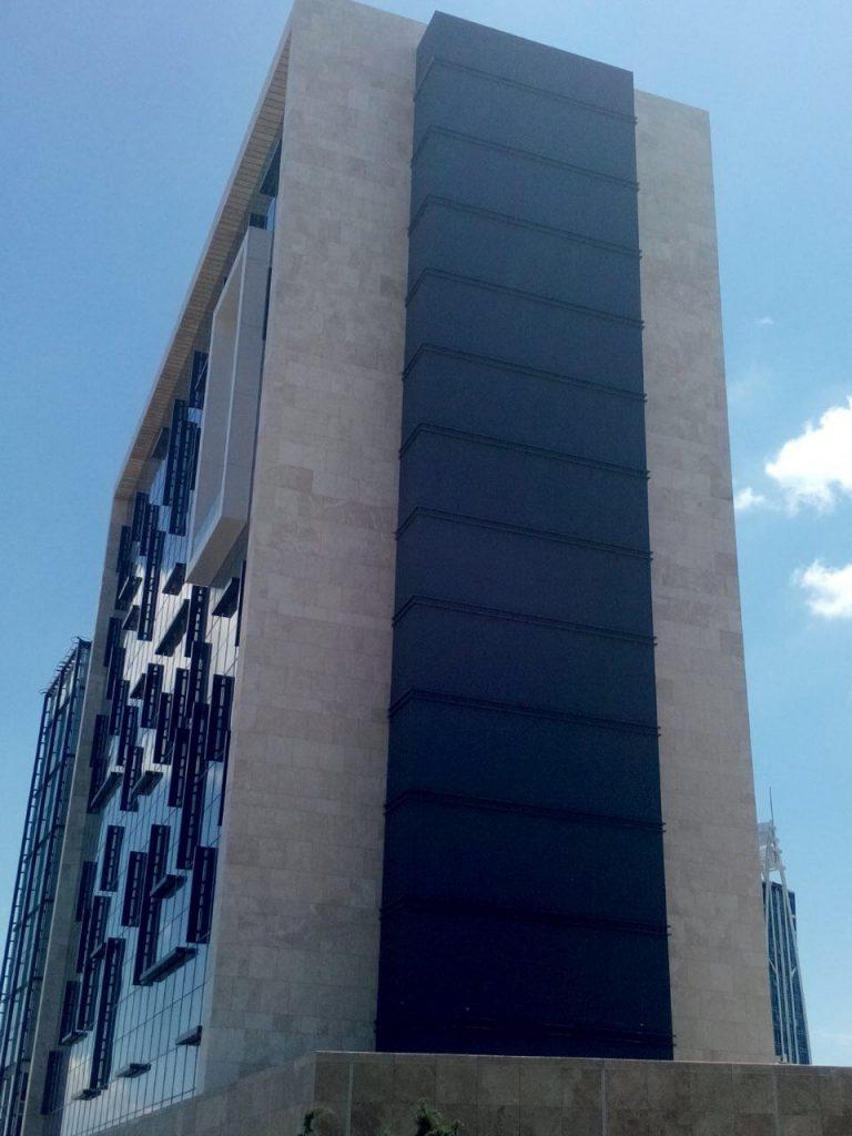 Turkiye, Istanbul,Maltepe OfisPark Yangin Merdivenleri (3)